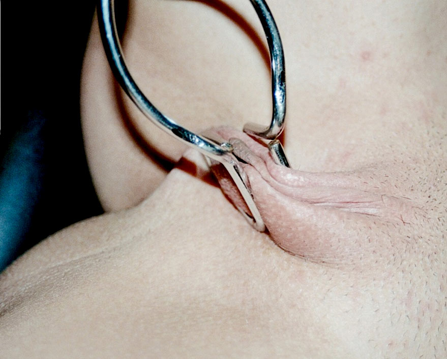 Brooke, nude, pussytortured and bound by Rick Savage.