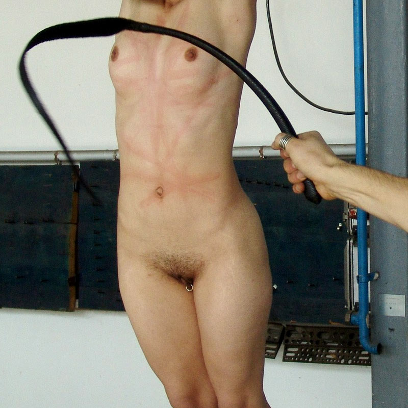 Alexa Endures Flogging & Nipple Torment for Smoking at Brutal Punshment.