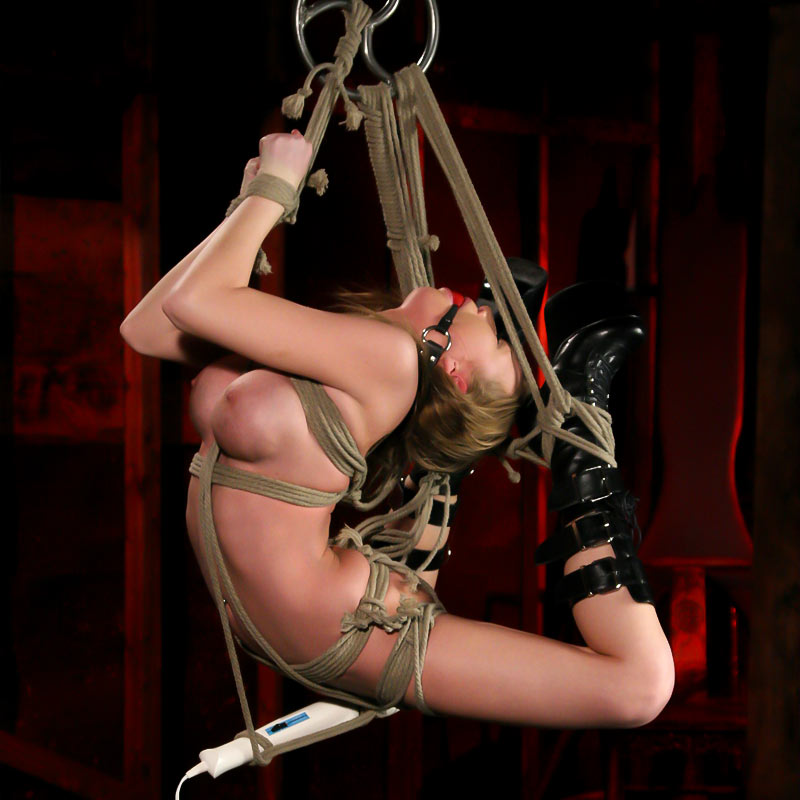 Madison Scott Nude In Suspension | A Perfect Slave