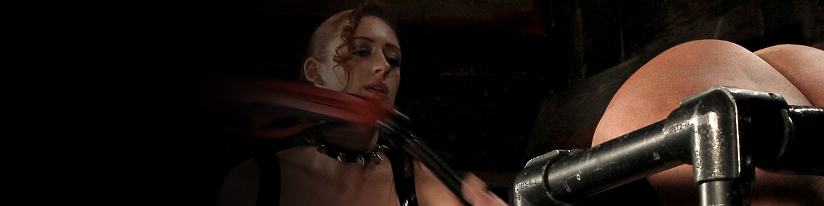 Strict Restraint | submissive women in device bondage being whipped, shocked, spanked.