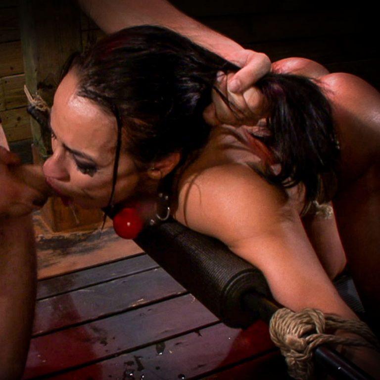 Becca diamond bondage hard fuck scene