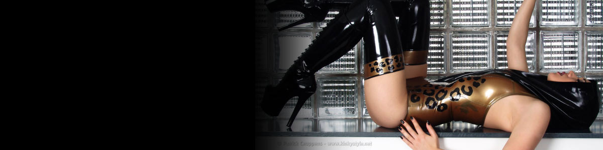 KinkyStyle. Beautiful Girls in Latex, Fetish, Bondage. The photographs of Patrick Ceuppens.