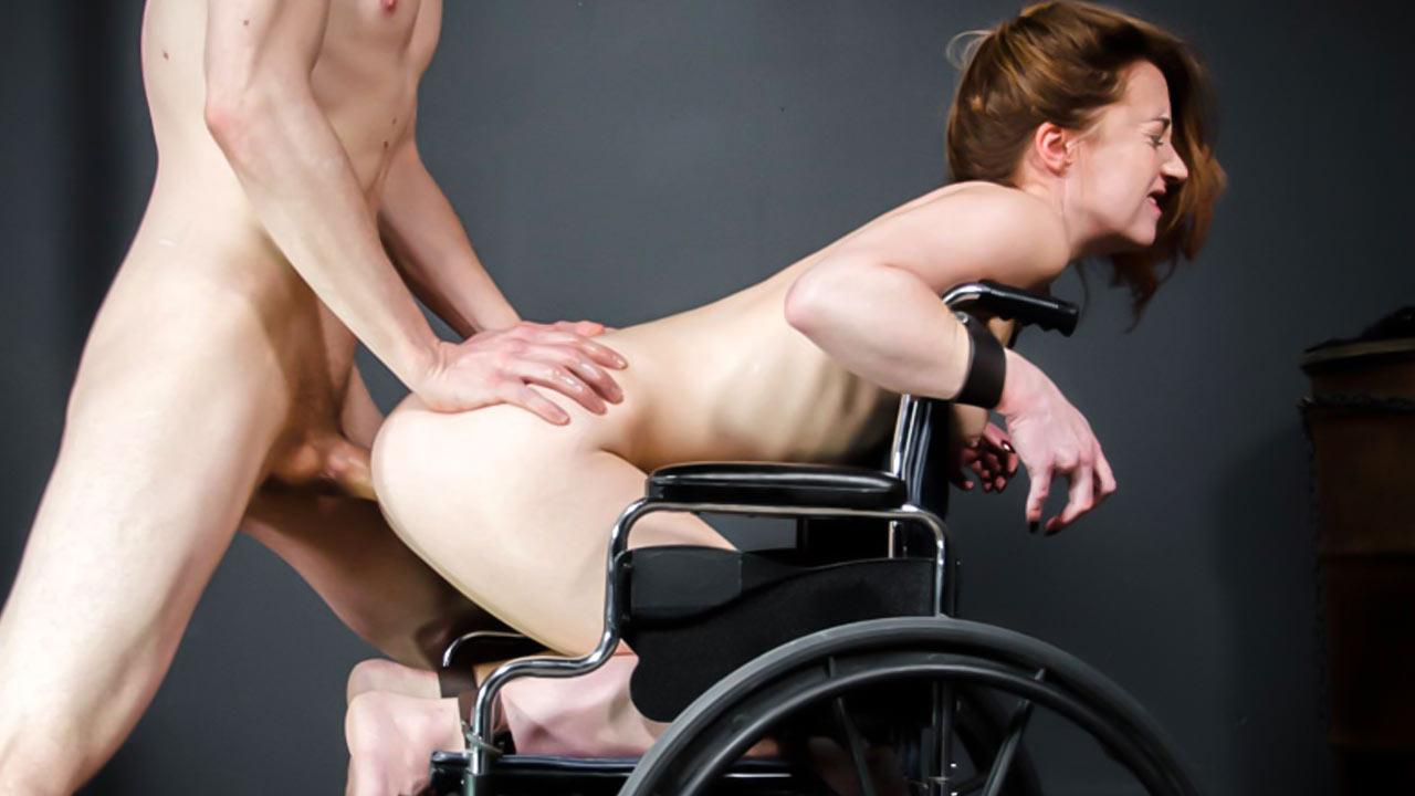 Wheelchair sex photo