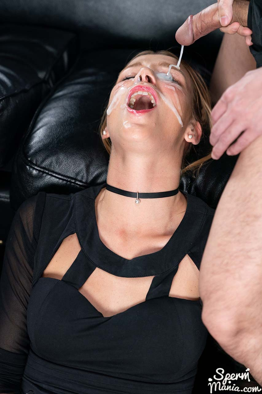 Alexis Crystal Bukkake Facial. Alexis receives 36 cumshots while masturbating in an uncensored video from SpermMania.