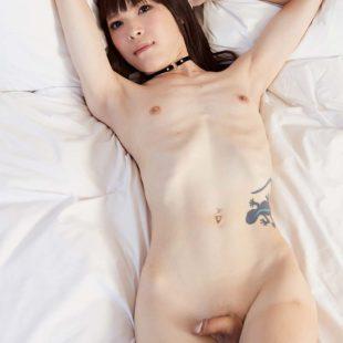 A slender shemale sex sensation.
