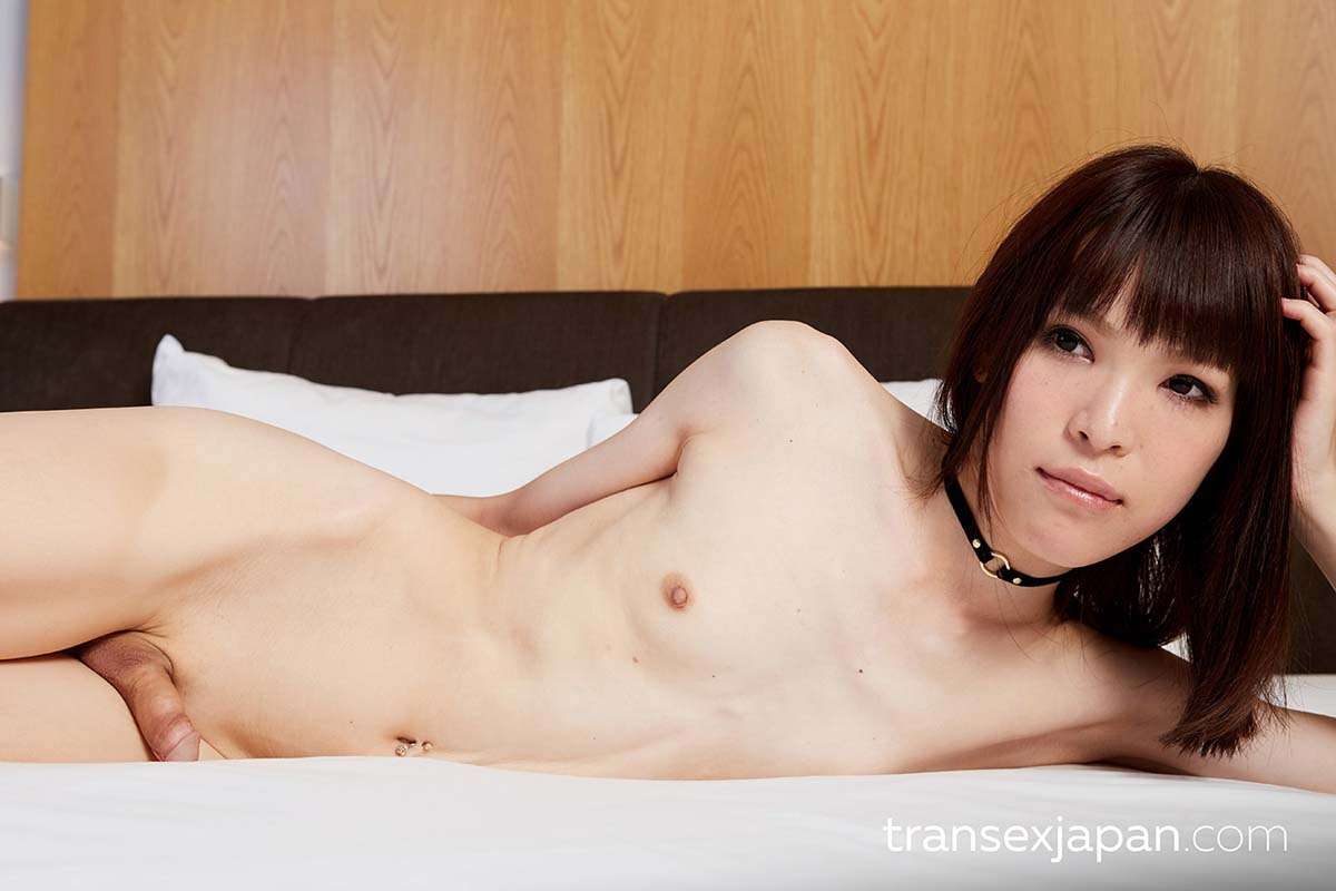 Yui Kawai at TranSexJapan in uncensored Shemale porn videos