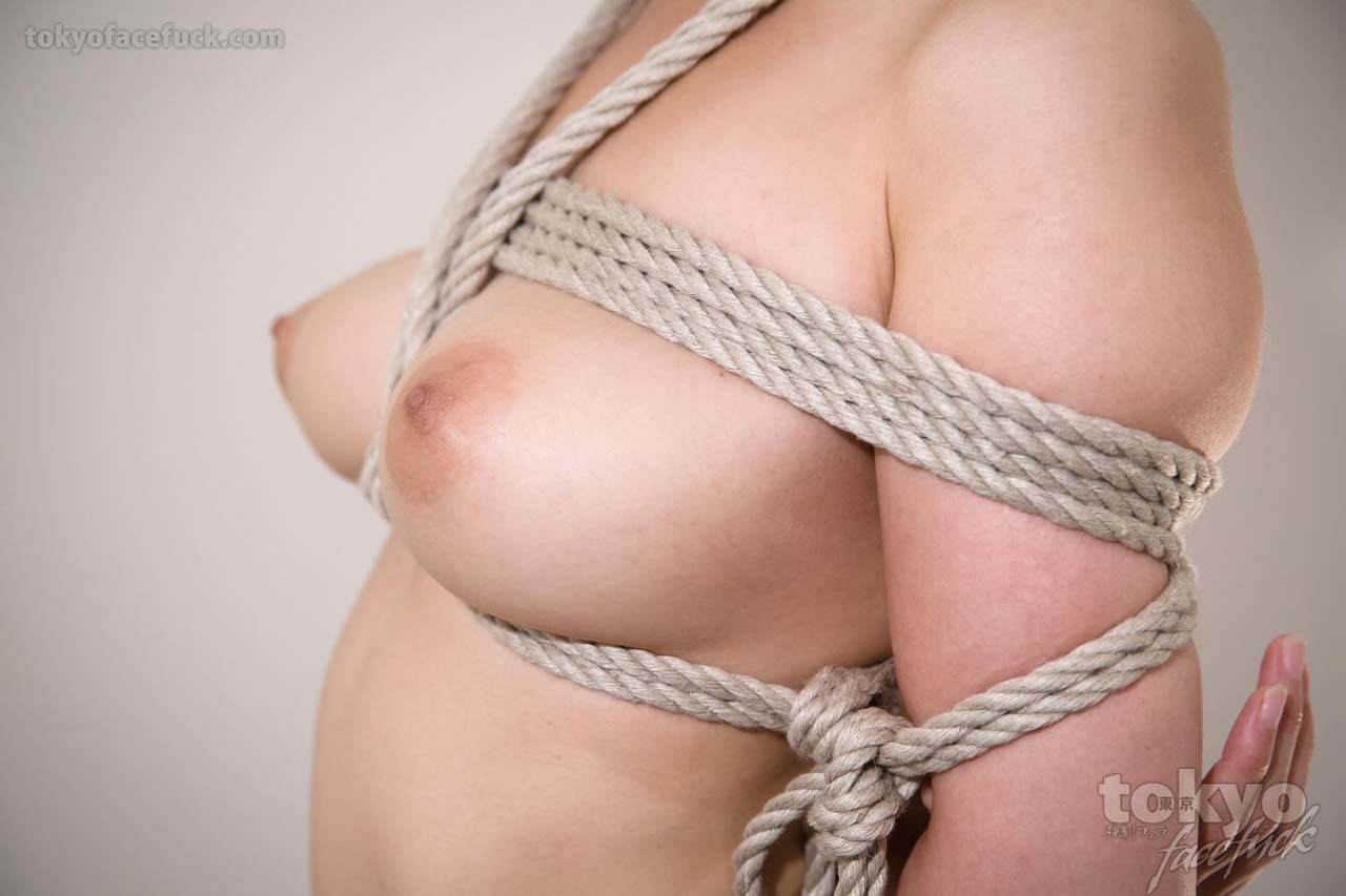 A nude girl face fucked in Bondage. An uncensored BDSM video from TokyoFaceFuck.