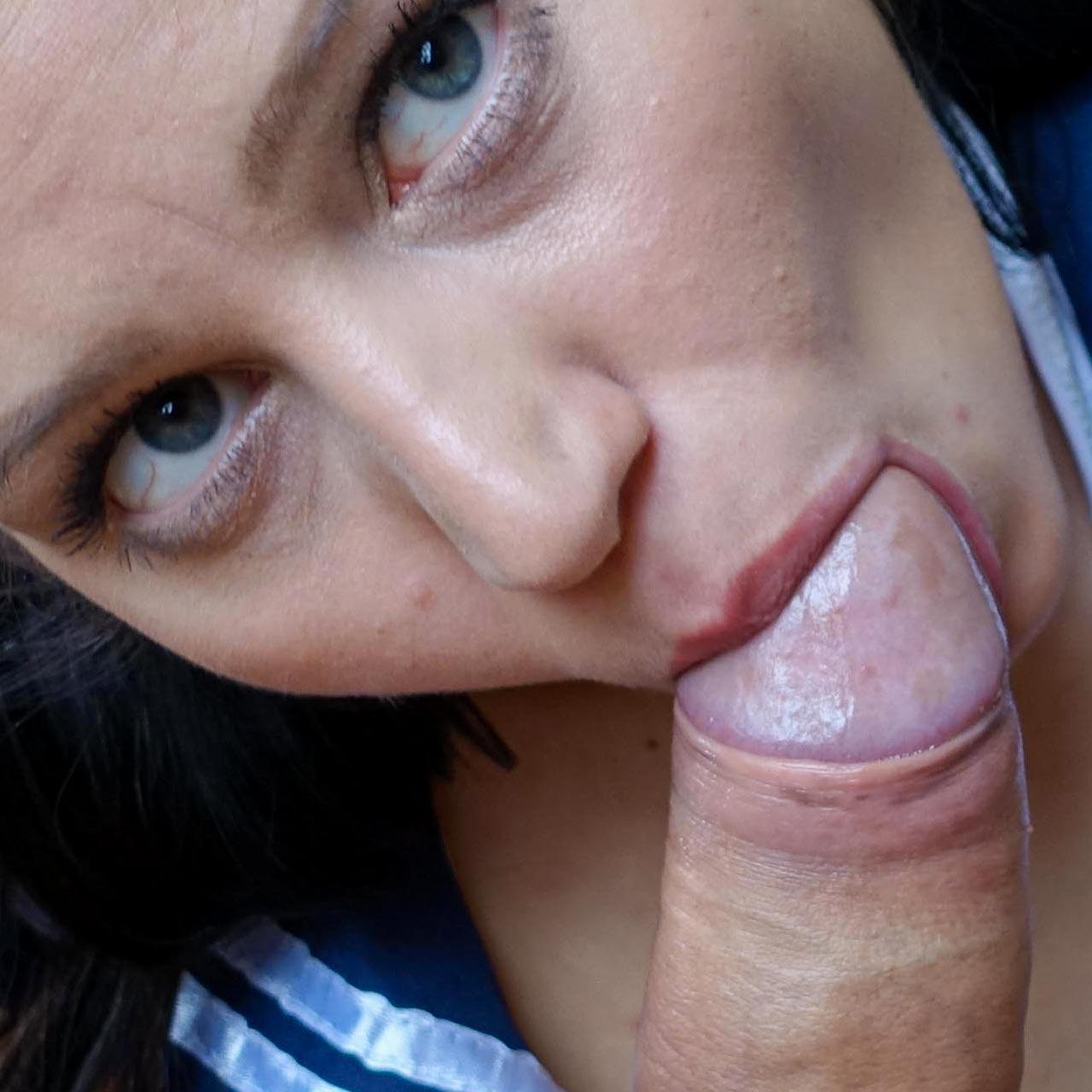Cum Buffet, cock sucking Blowjob girls swallow sperm in uncensored cumbuffet videos. pictured: Emily Brix.