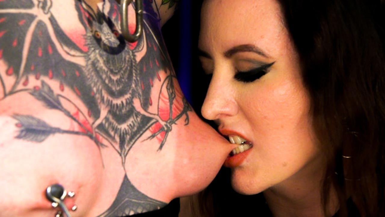 Cherry Torn Tests Dana Spit's Need For Erotic Torment