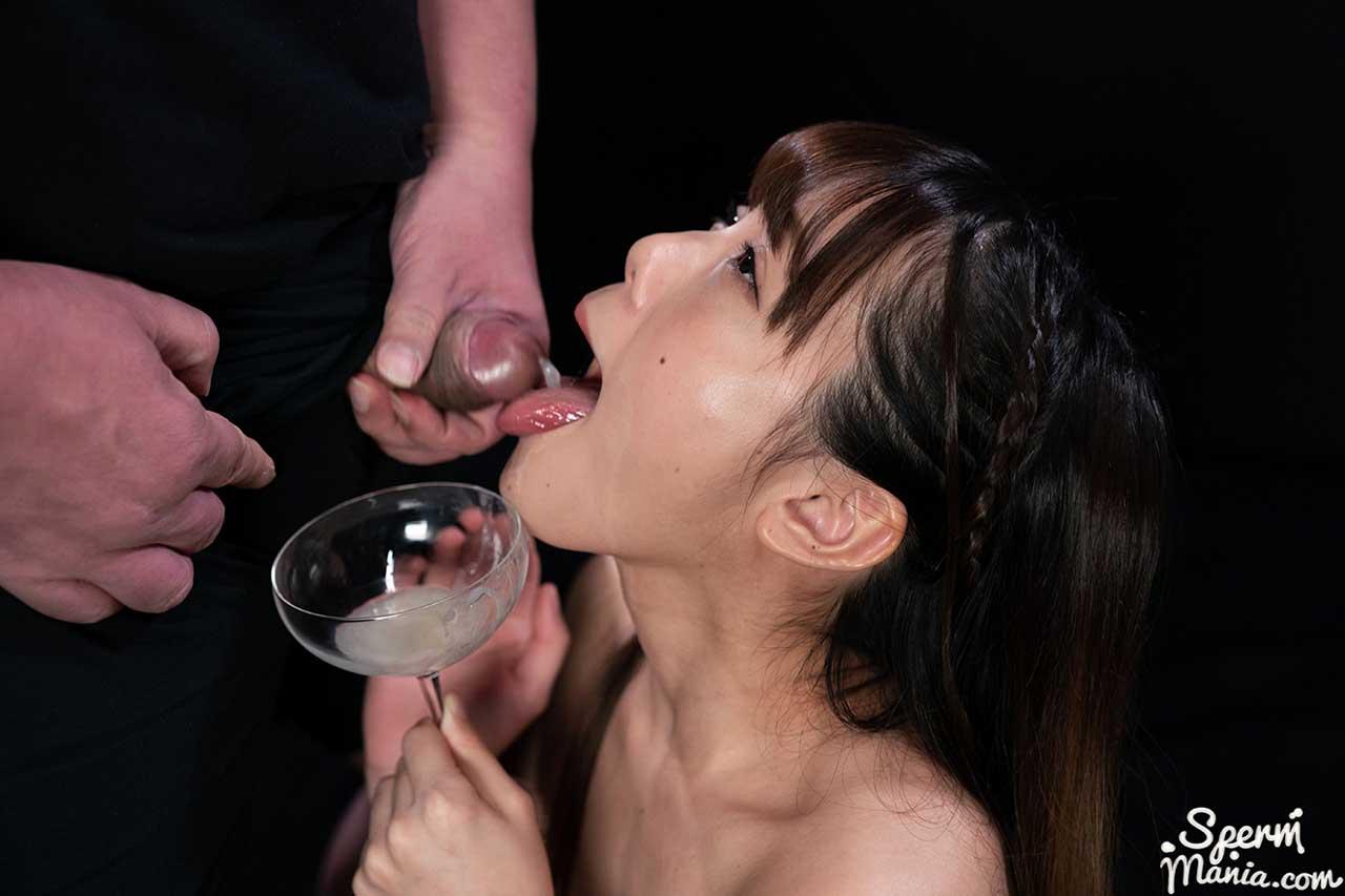 Aya Komatsu, nude in Group Cum Handjob video from SpermMania. Aya Komatsu Collects Lots of Cum for An Extra Sloppy Handjob. Uncensored Cum Fetish from Japan.